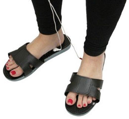 TENS massage shoes